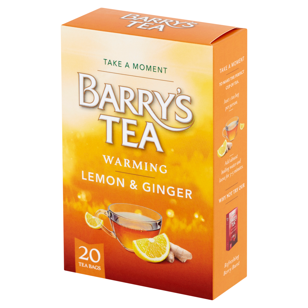 LEMON & GINGER 20 TEABAGS