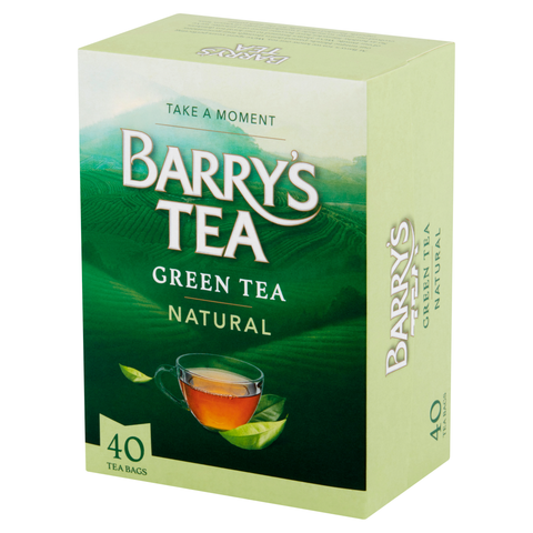 NATURAL GREEN TEA 40 TEABAGS