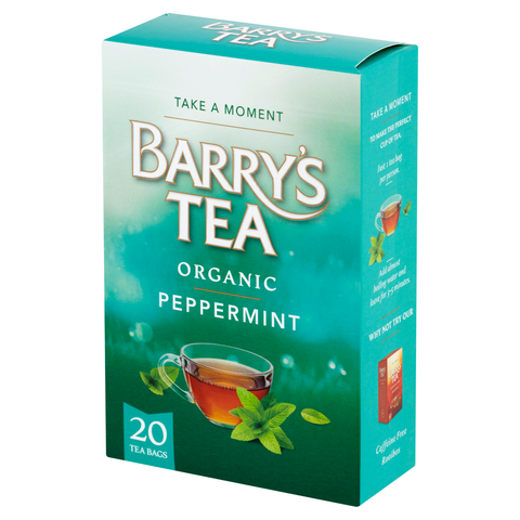 ORGANIC PEPPERMINT 20 TEABAGS