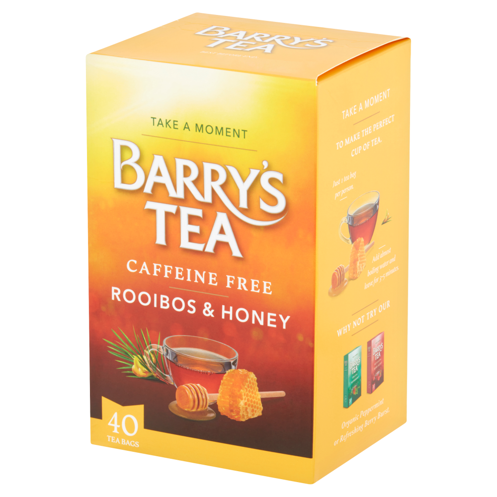 ROOIBOS & HONEY 40 TEABAGS