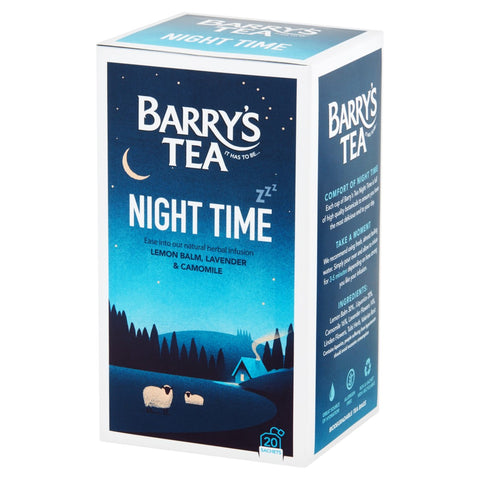 Barry's Tea Night Time