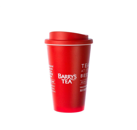 BARRY'S TEA RED TRAVEL MUG