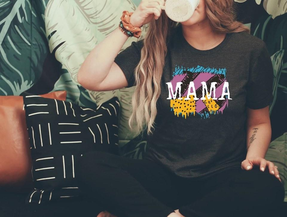 Old School Mama Graphic T