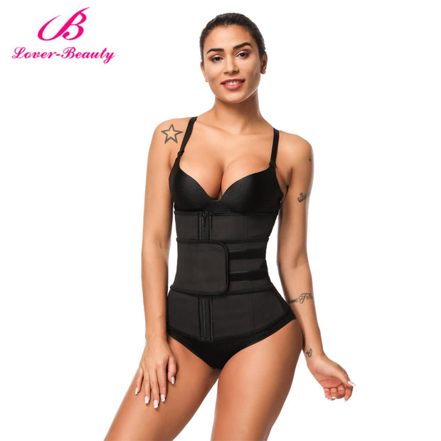 Fat Burning Waist Trainer w/ Belt