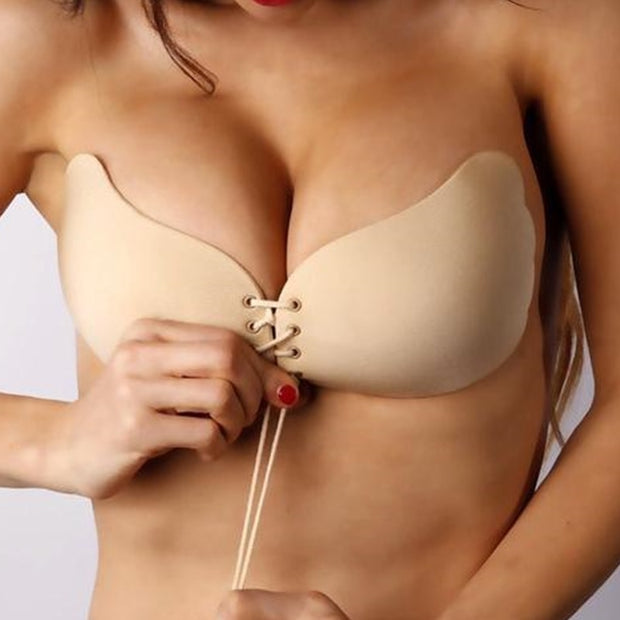 Self-Adhesive Strapless Bra