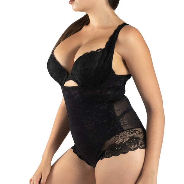 Lace Body Shaping Suit