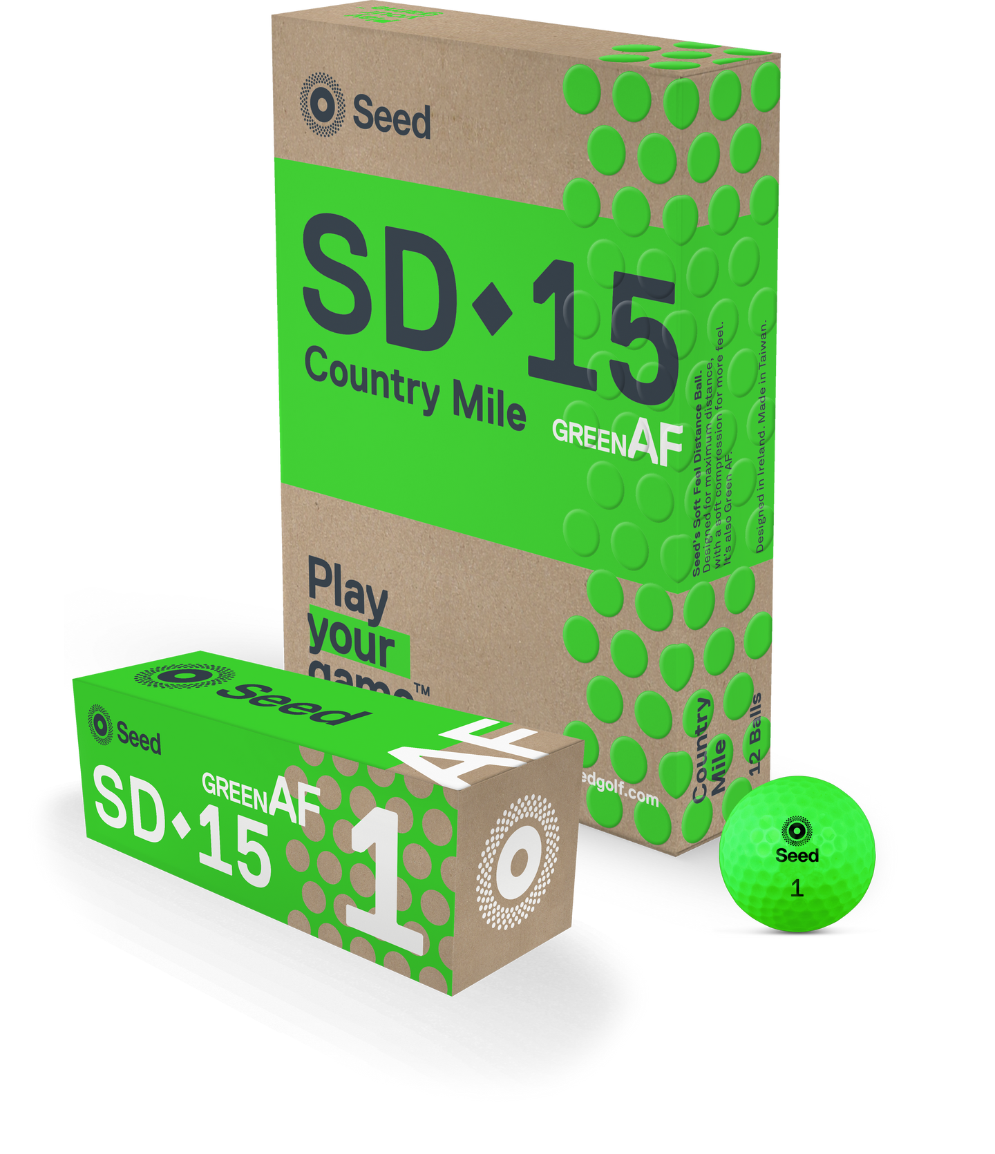Seed SD-15 Country Mile - GreenAF