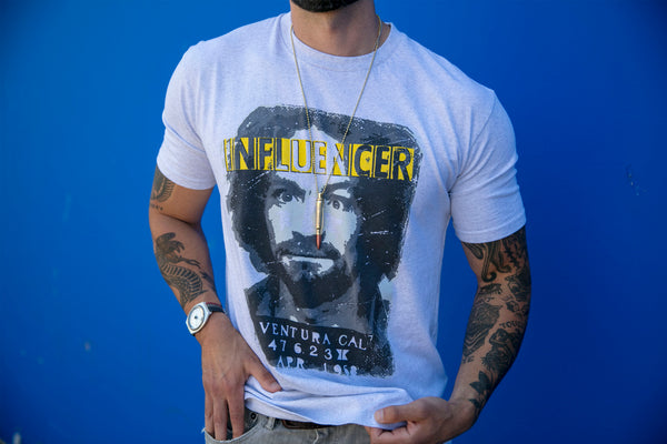 Dual Influencer LIMITED EDITION T-Shirt - White Heather