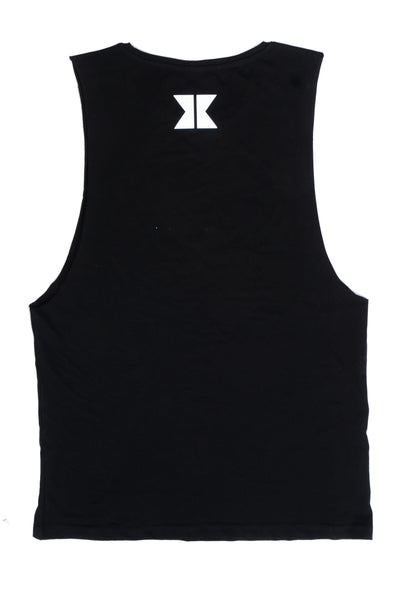 Dual Yesterday 2 LIMITED EDITION Cut-Off Tank-  Black