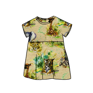 Safari Tee Dress