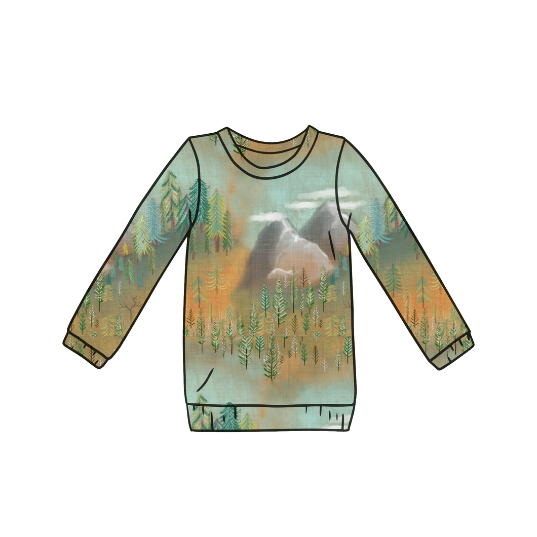 Mountain Long Sleeve Top