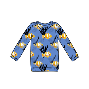 Bob bobs Long Sleeve Top