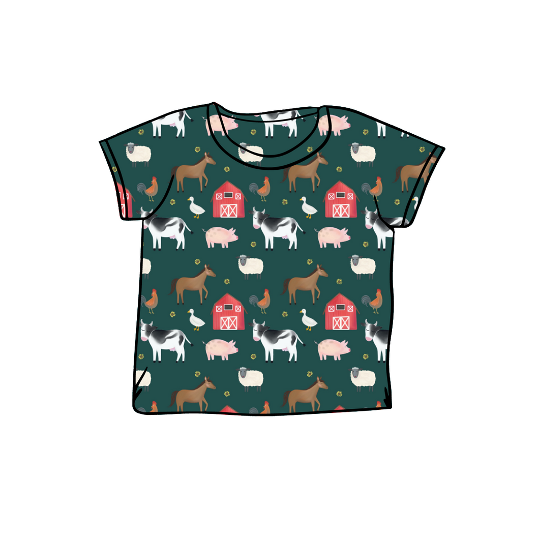 Farmyard Short Sleeve Tee