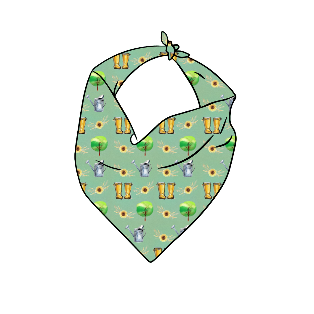 Green Fingers Bib