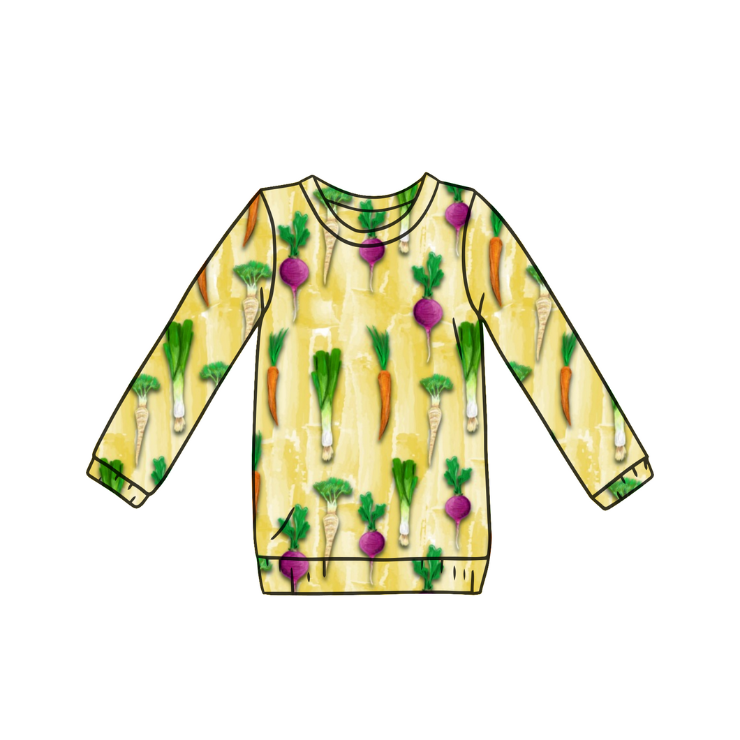 Veggies Long Sleeve Top