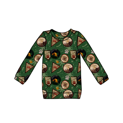 Bear Explorer Long Sleeve Top