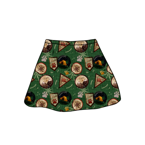 Bear Explorer Skirt