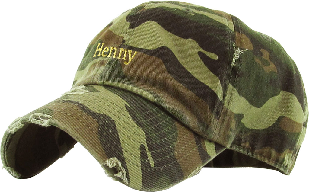 Henny Vintage Dad Hat