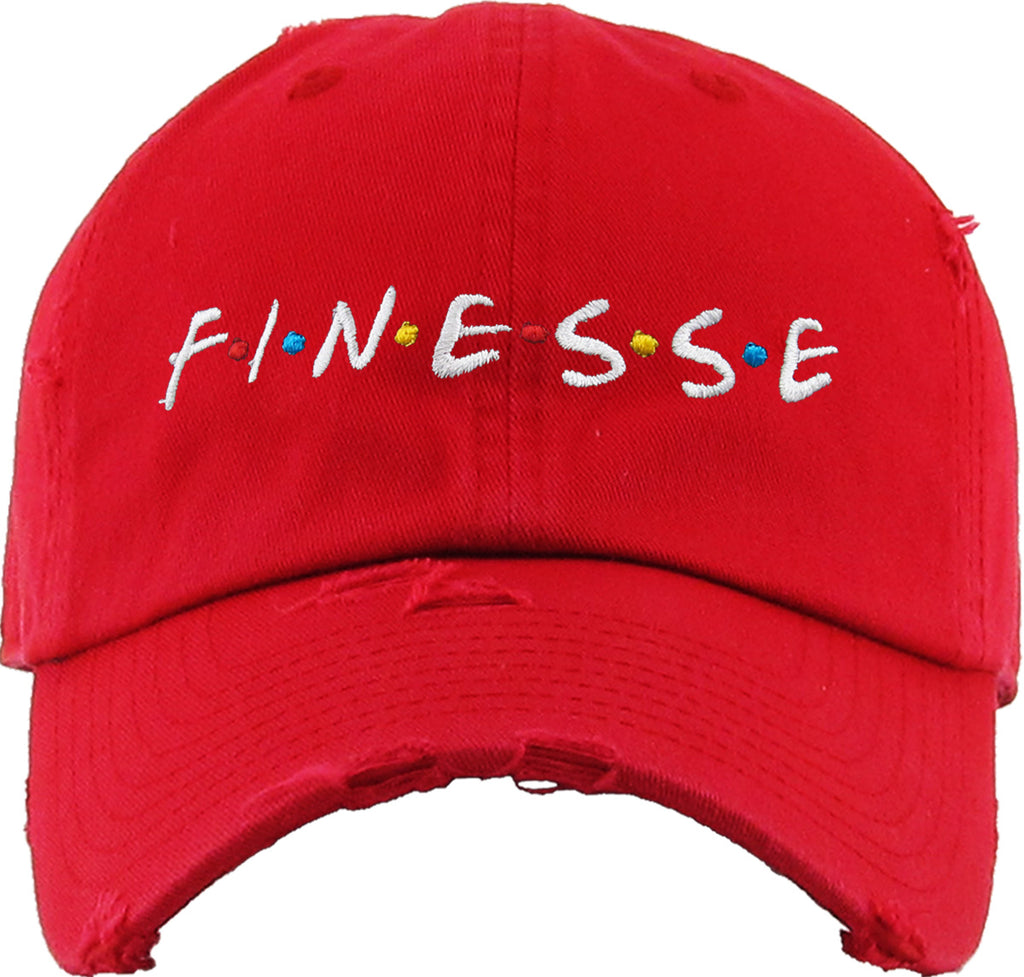 FINESSE EMBROIDERY VINTAGE DAD HAT