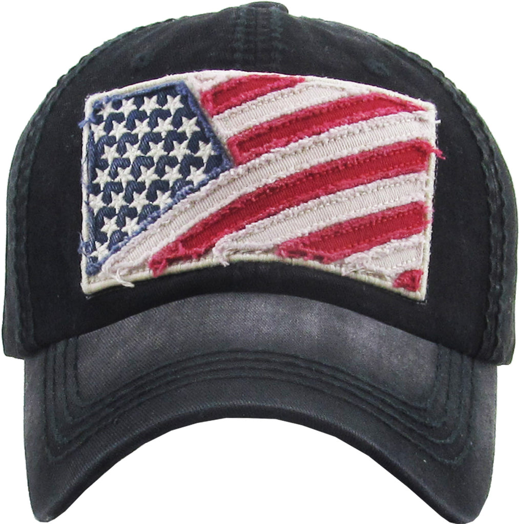 Flag Vintage Ballcap One Size Adjustable
