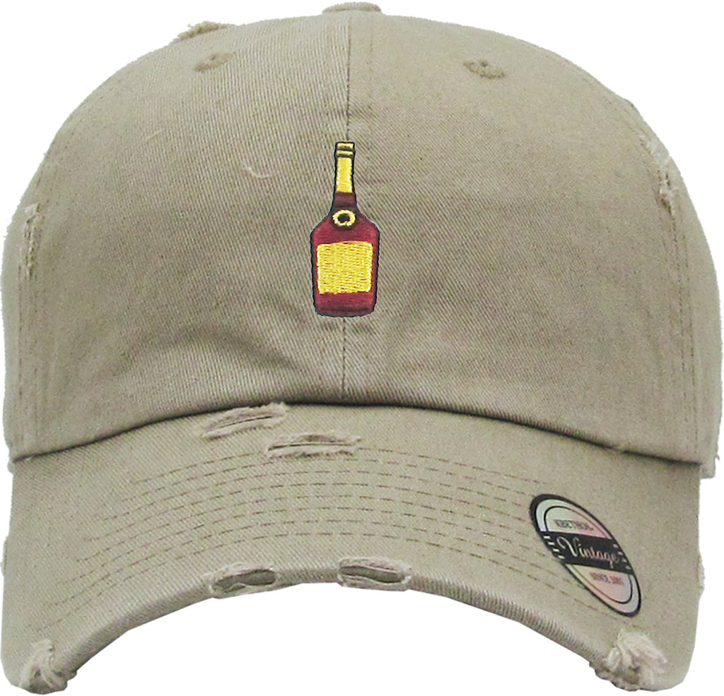 HENNY BOTTLE VINTAGE DAD HAT