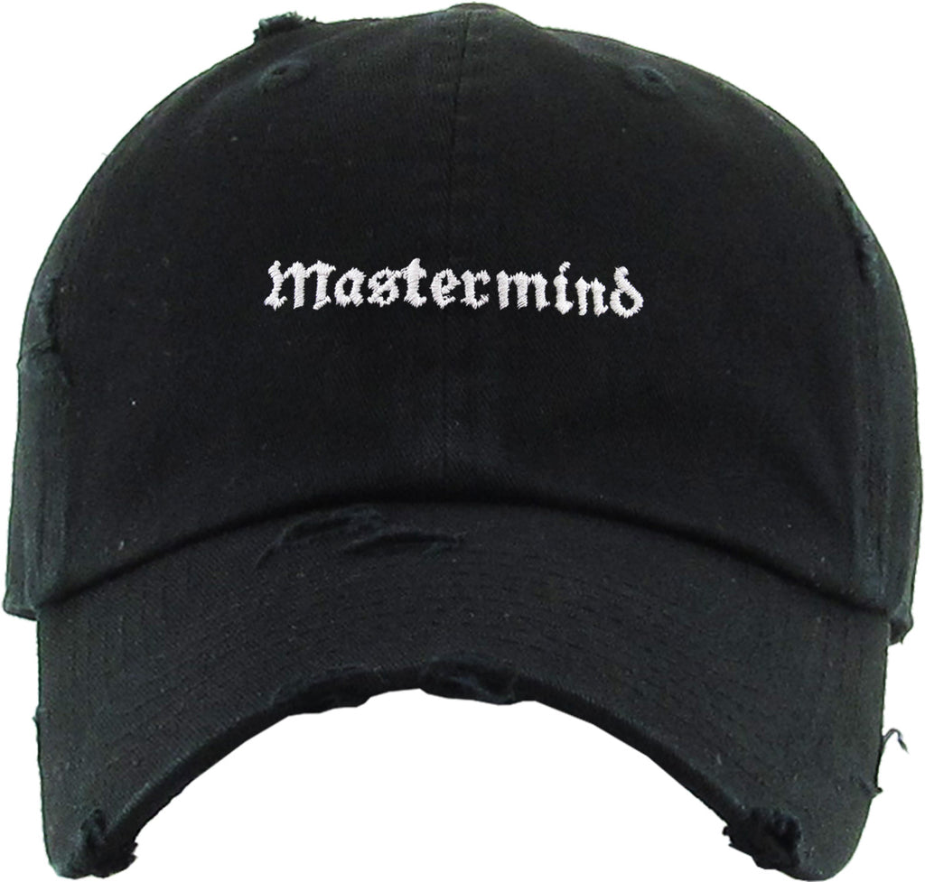 MASTERMIND EMBROIDERY VINTAGE DAD HAT