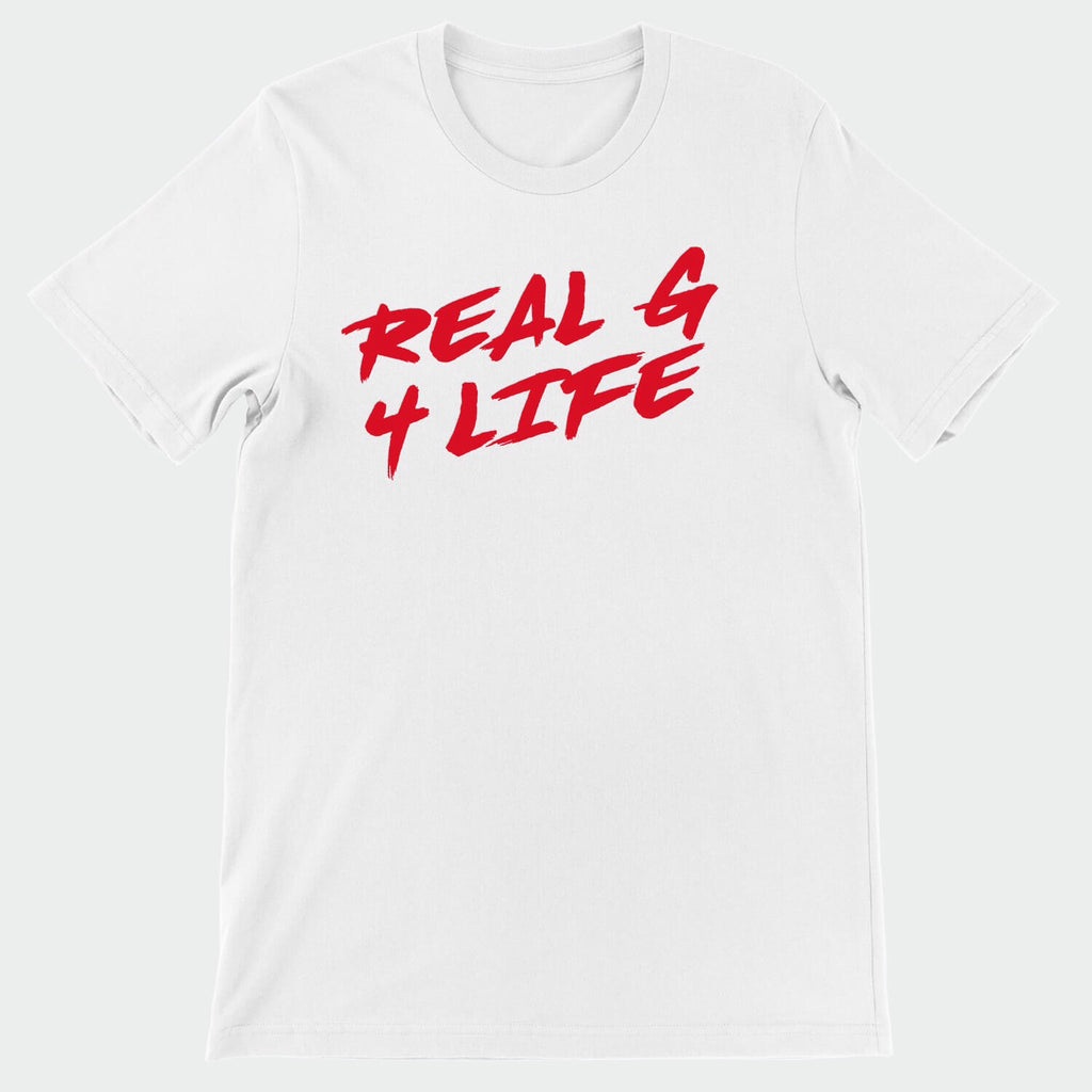 Real G 4 Life White T-Shirt
