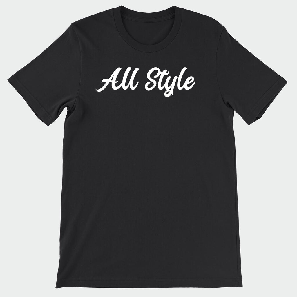 All Style Brand Black & White T-Shirt