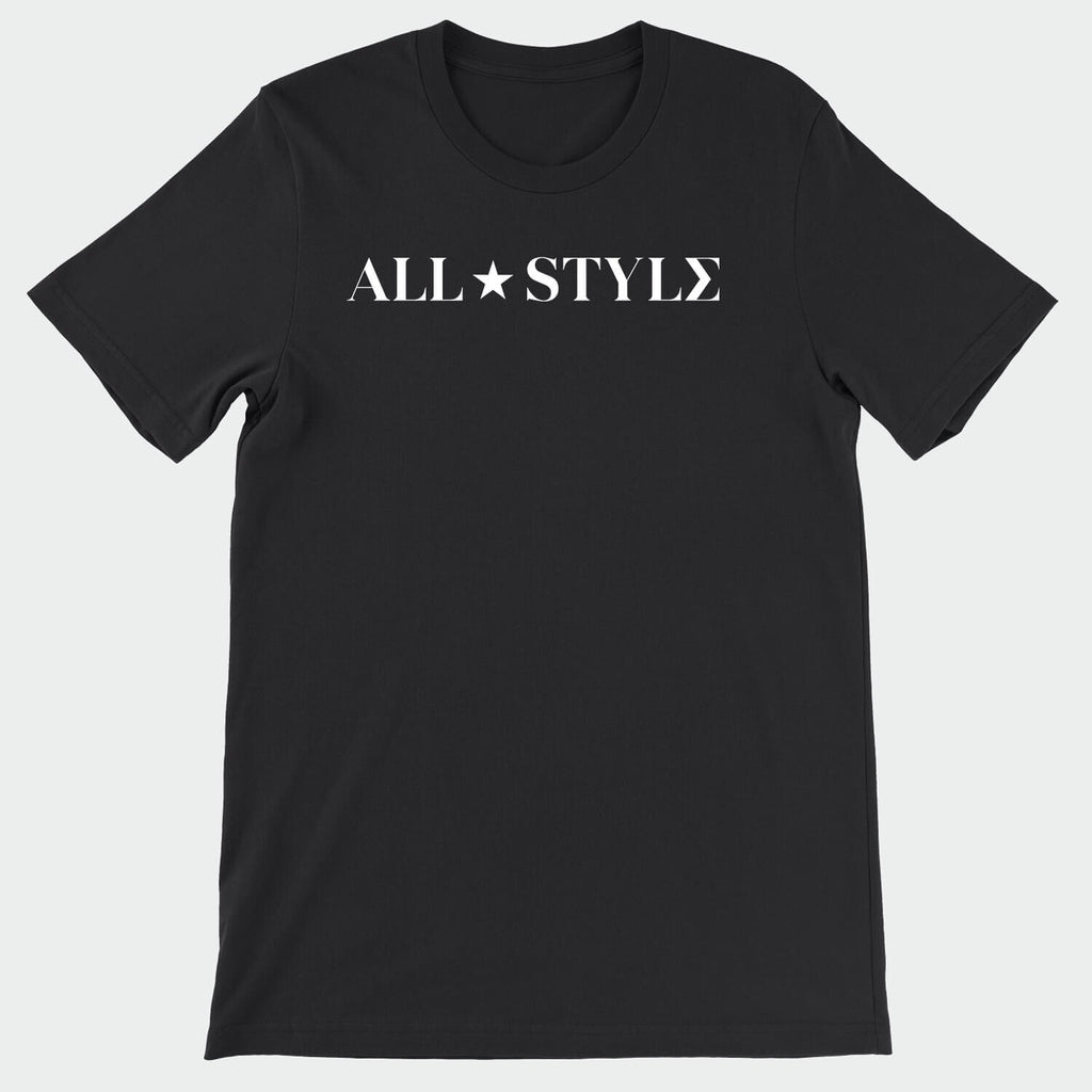 All Style Black & White T-Shirt