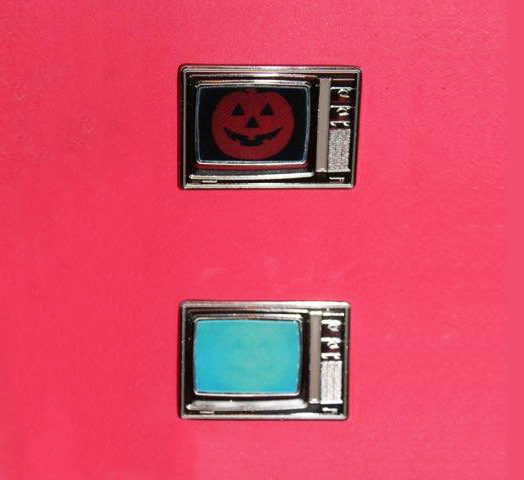 Halloween III lenticular TV Pin
