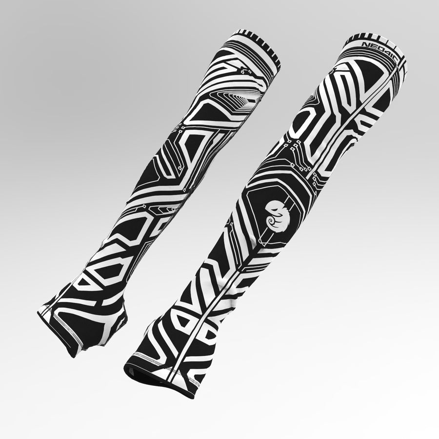 Quantum Power Sleeves ( White Ink )