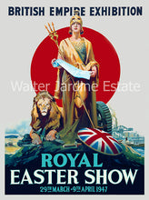 Load image into Gallery viewer, Royal Easter Show poster 1947