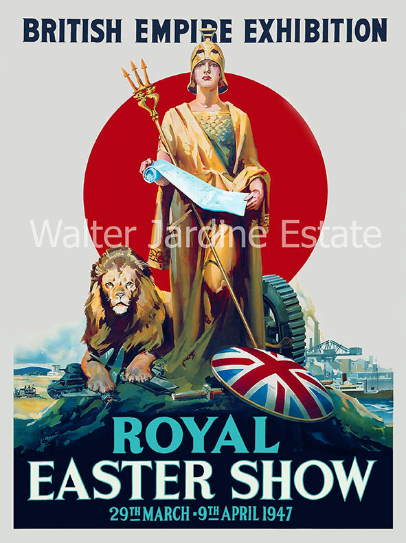 Royal Easter Show poster 1947