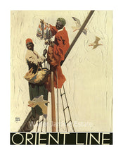 Load image into Gallery viewer, Orient Line Poster Walter Jardine