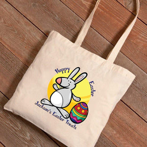 Personalized Easter Canvas Bag - Easter Treats
