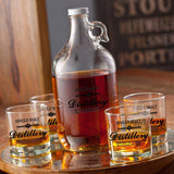 Personalized Whiskey Growler Set
