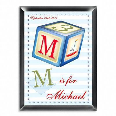 Personalized Kid's Room Sign - Sailor Boy