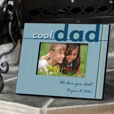 Personalized Cool Dad Picture Frame