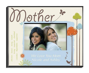 Personalized Nature's Song Picture Frame - Mother