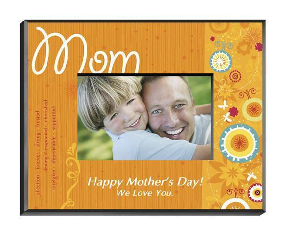 Personalized Sunshine and Flowers Frame - Mom