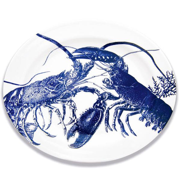 Blue Lobsters Large Oval Platter SLOVL-817