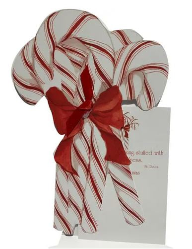 Candy Cane Bouquet with glitter