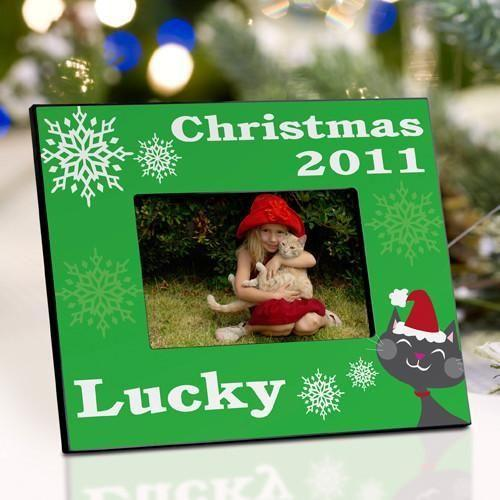 Personalized Pet Christmas Picture Frame