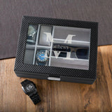 Personalized Watch Box - Sunglasses Box - Combo - Monogram