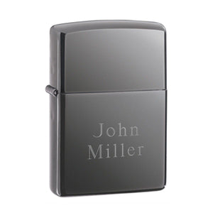 Personalized Lighters - Zippo - Black Ice - Groomsmen Gifts