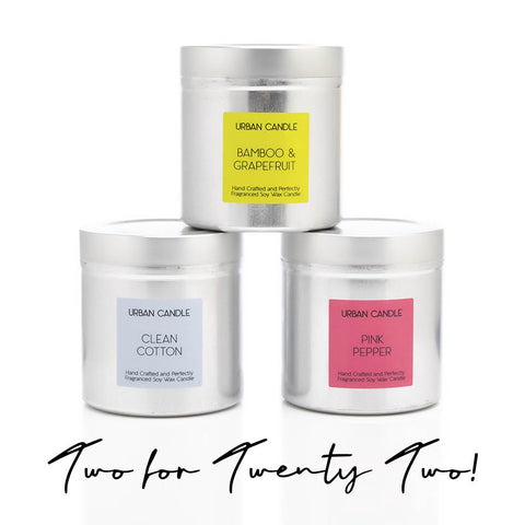 Perfect Candle Tins: 2 for £22