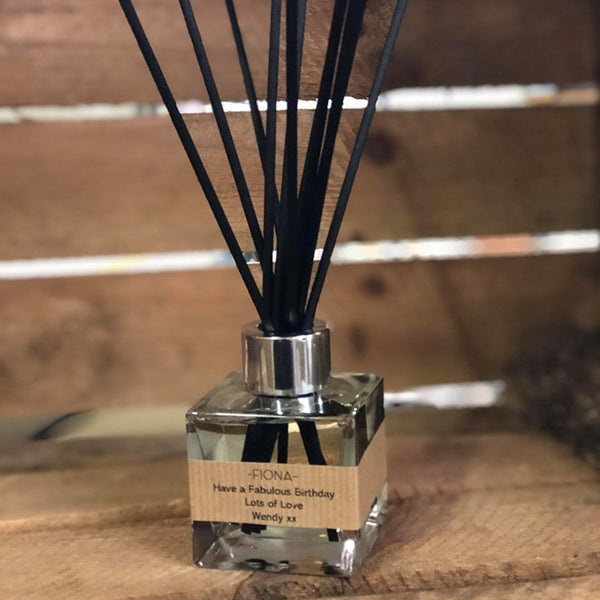 Personalised Signature Reed Diffuser