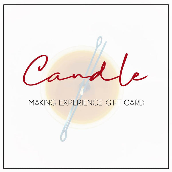Candle Making Experience: Gift Card