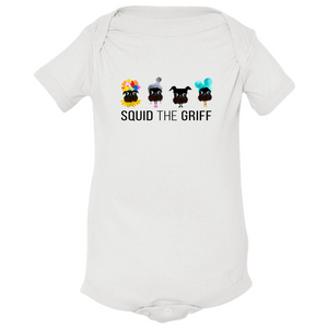 Infant Onesie - Squid Lineup