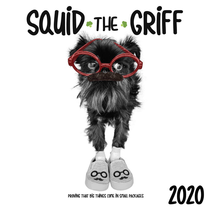 2020 Squid Wall Calendar